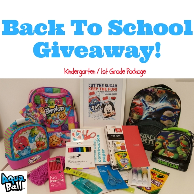Back To School Giveaway!