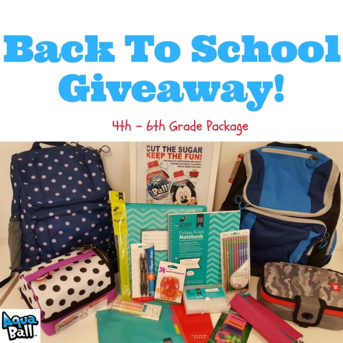 Back To School Giveaway!(2)